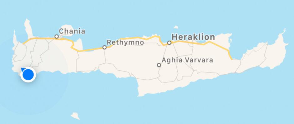 Paleochora - mysig by på Kreta-85