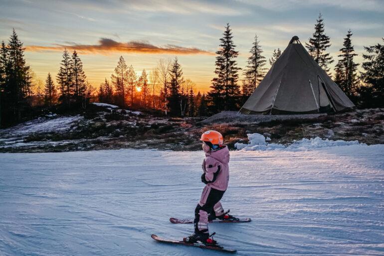 säfsen barnvänlig skidort i södra dalarna
