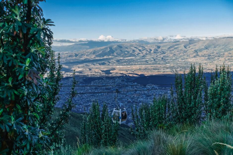 resa till ecuador reseguide teleferico
