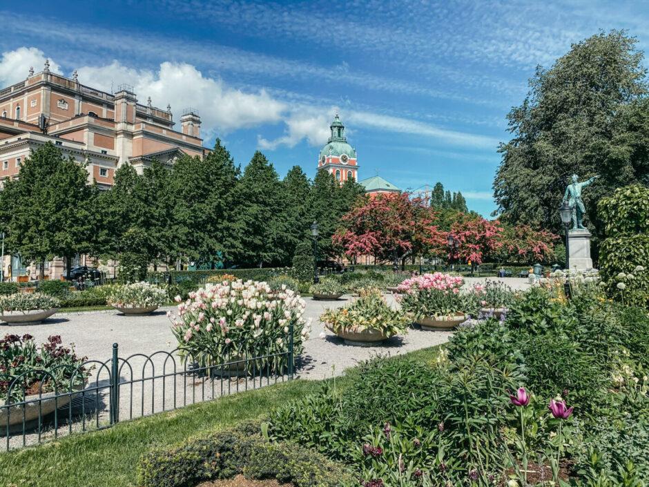 stockholm kungsträdgården