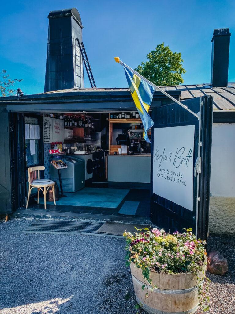 Kerstin & britt restaurang saltsjö duvnäs nacka koloni
