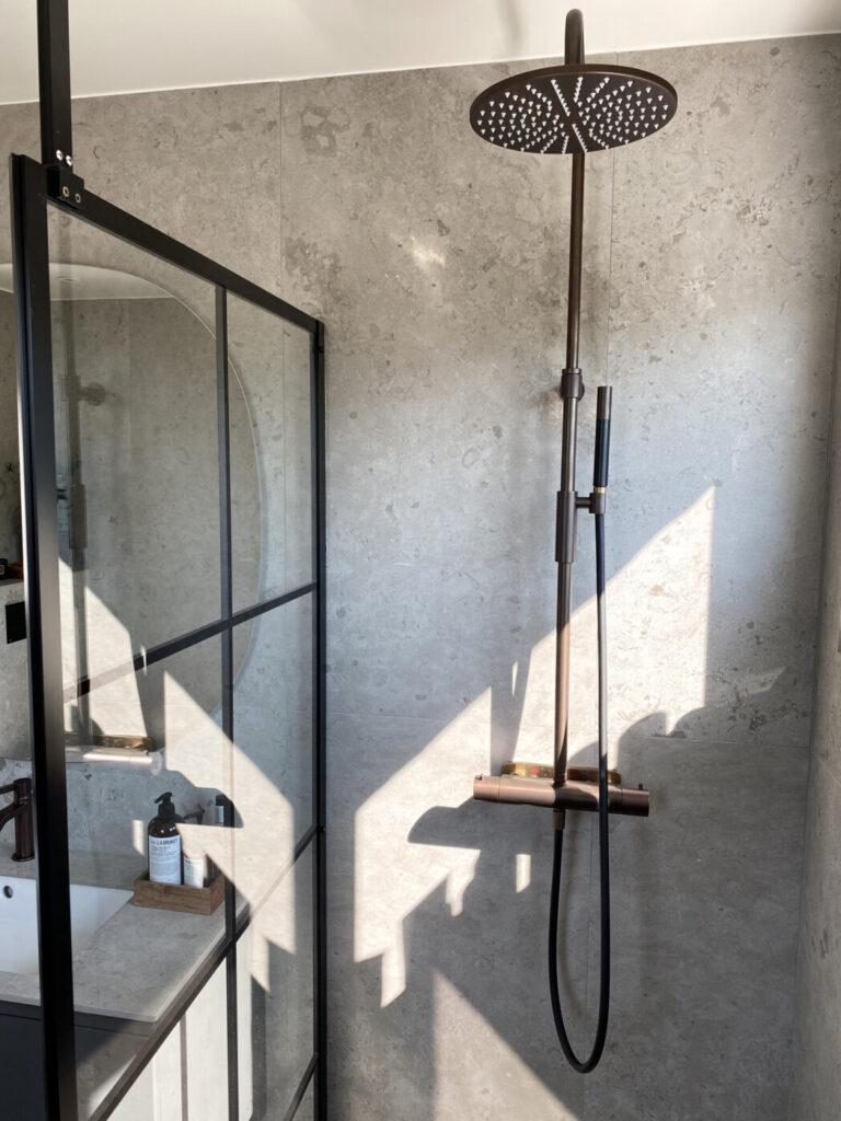 badrum norrvange light grey tapwell