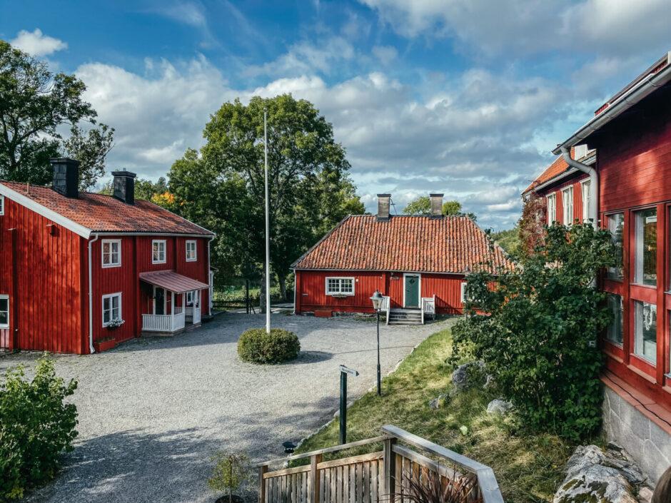 skeviks gård grotta Värmdö nacka utflykt