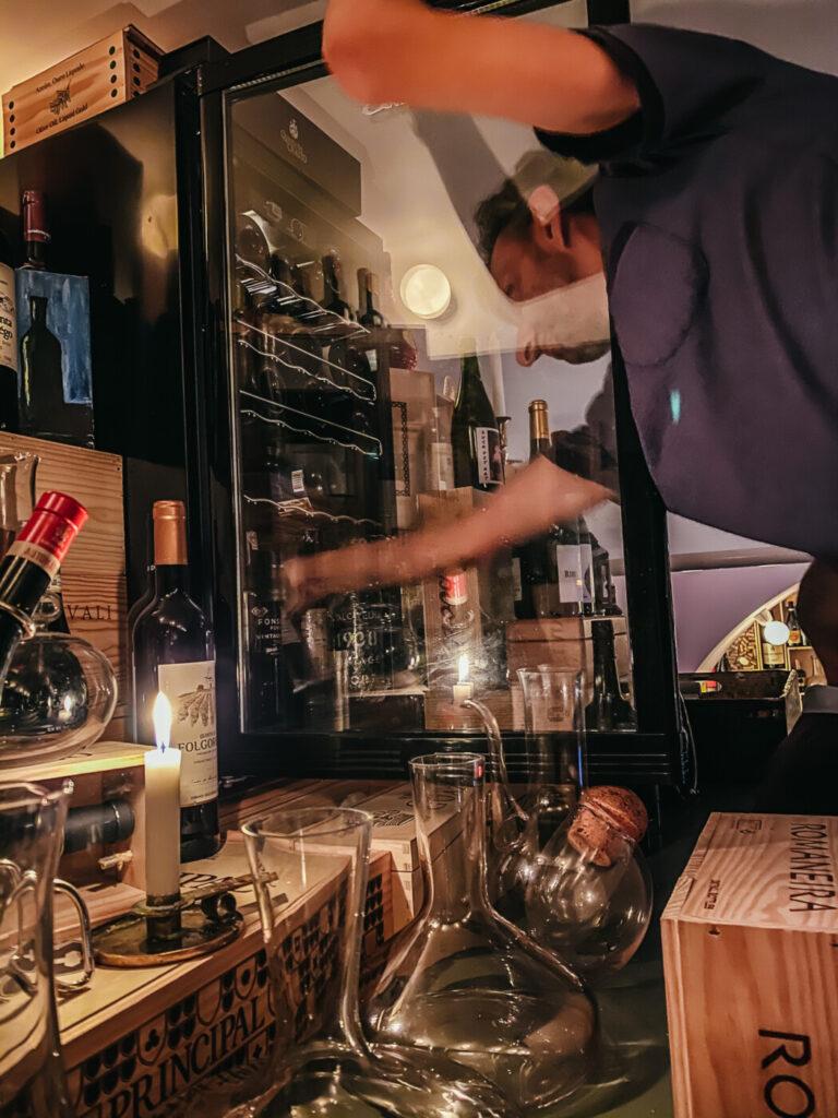 Cork vinbar gamla stan stockholm