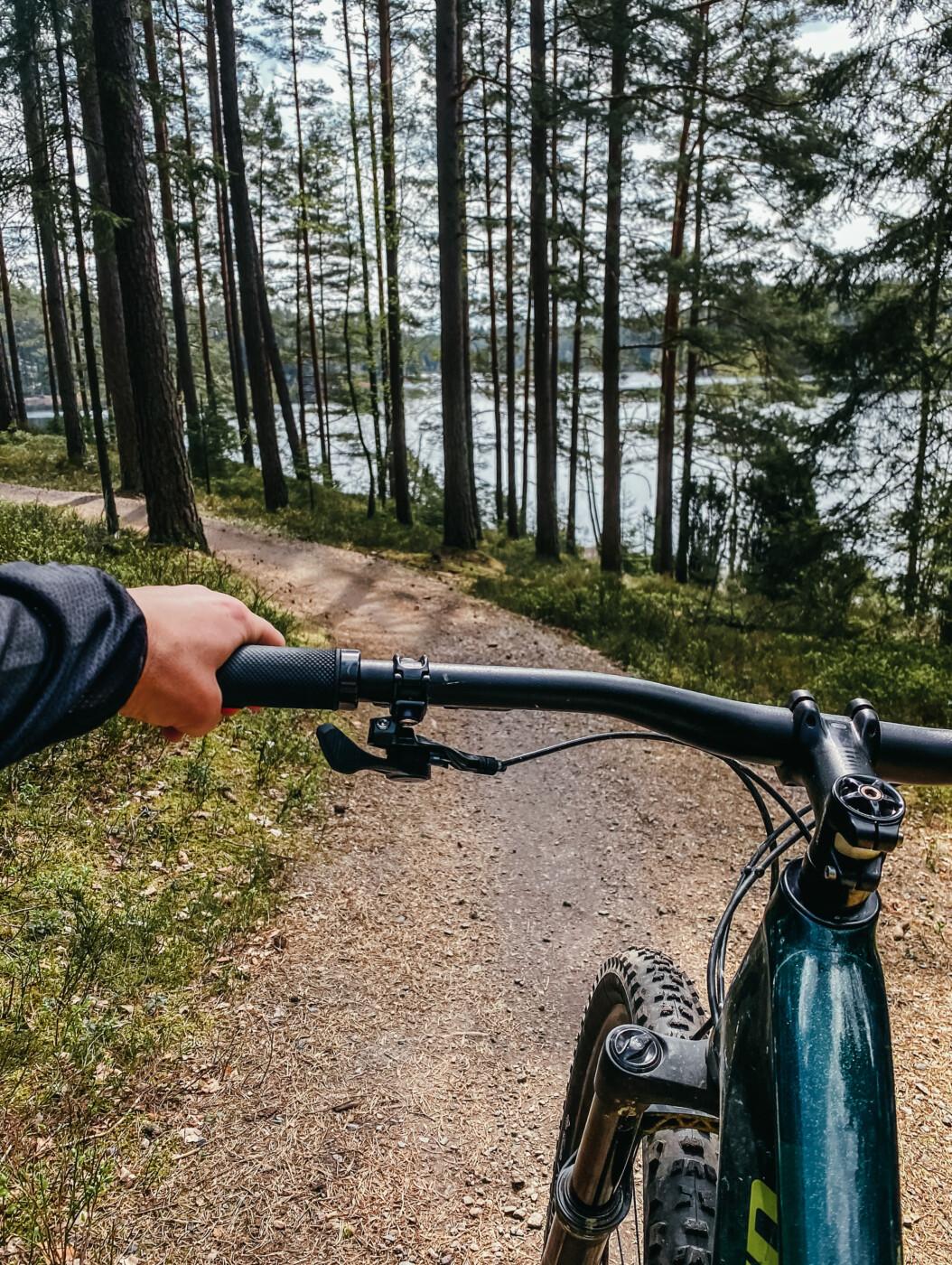 isaberg hestra mtb mountainbike höghöjdsbana