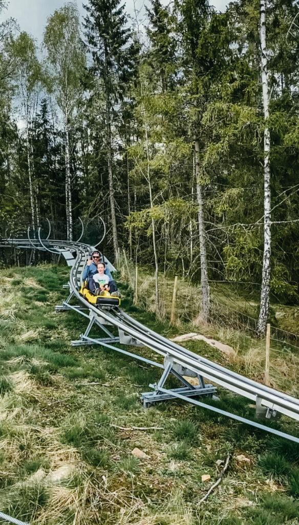 isaberg hestra mtb mountainbike höghöjdsbana rodel