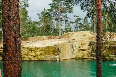 bada i östra silvberg gruva dalarna